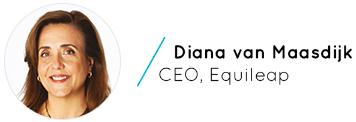 Diana van Maasdijk, CEO at Equileap
